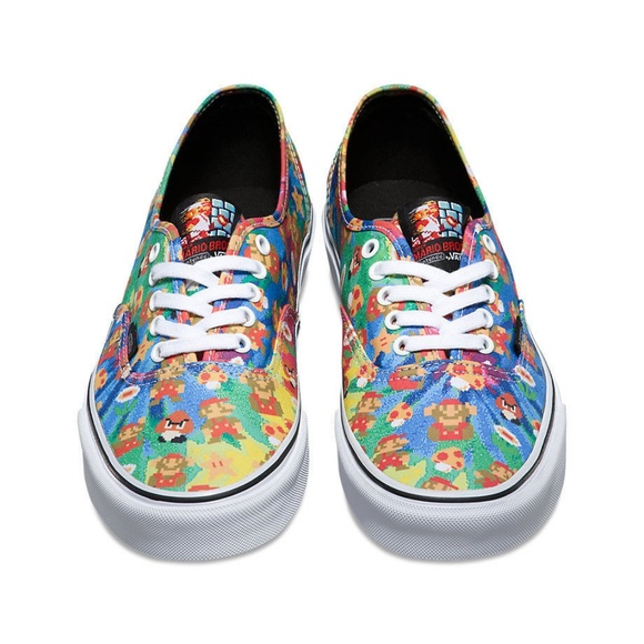 cdda041882 VANS x NINTENDO Shoes Super Mario Bros TIE DYE NEW